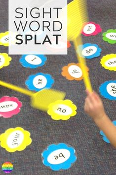 Task Shakti - A Earn Get Problem Make Learning To Read Sight Words More Engaging With This Fun Hands-On Game Of Sight Word Splat You Clever Monkey E Learning, Kids Learning Activities, Toddler Learning, Sight Word Activities, Education Games For Kids, Learning To Read Games, Fun Phonics Activities, Reading Games For Kids, Summer School Activities