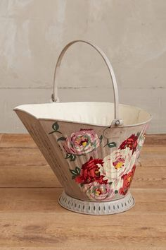 English Rose Garden Bucket
