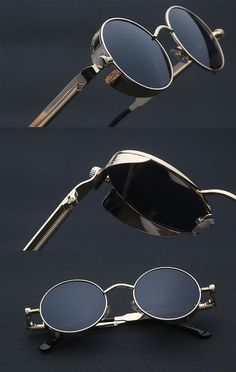 70127371ea6 Steampunk Sunglasses Fashion Gothic Victorian Style Sunglasses Vintage  Sunglasses men Gothic Steampunk