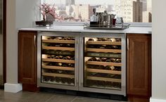 Sub-Zero wine preservation units act not merely as coolers but as guardians against heat, humidity, vibration and light.
