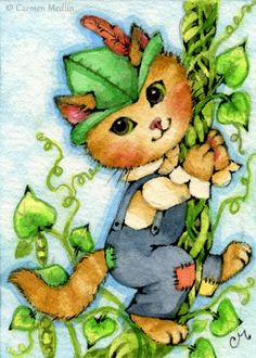 Kitty and the Beanstalk by Carmen Medlin