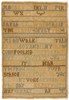 Philadelphia Museum of Art - Collections Object : Sampler