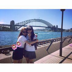 give u a hug #friends #longtimenosee #sydney #girlsdayout #hug #dating #luv #sydneyharbourbridge #sydneyoperahouse #시드니 #친구 by newamandaaaa http://ift.tt/1NRMbNv