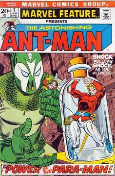 MARVEL FEATURE 7, ANT-MAN, BRONZE AGE MARVEL COMICS
