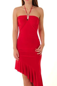 DHStyles Women's Red Slinky Asymmetrical Hem Halter Cocktail Dress - Large #sexytops #clubclothes #sexydresses #fashionablesexydress #sexyshirts #sexyclothes #cocktaildresses #clubwear #cheapsexydresses #clubdresses #cheaptops #partytops #partydress #haltertops #cocktaildresses #partydresses #minidress #nightclubclothes #hotfashion #juniorsclothing #cocktaildress #glamclothing #sexytop #womensclothes #clubbingclothes #juniorsclothes #juniorclothes #trendyclothing #minidresses #sexyclothing…
