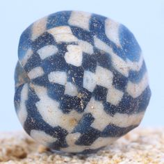Ancient medieval islamic glass bead. 11,5 x 11 mm. 900 – 1200 AD. by faqrun on Etsy