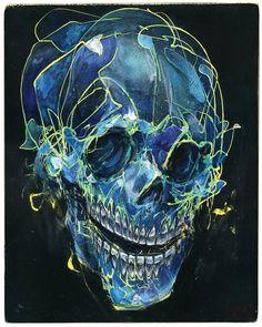 Skull Art Prints Of Original Paintings