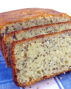 One Perfect Bite: Lemon Poppyseed Bread
