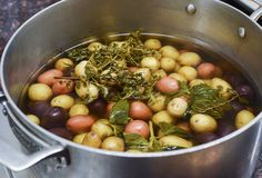 Flavor Tip: Add Fresh Herbs to the Water When Boiling Potatoes