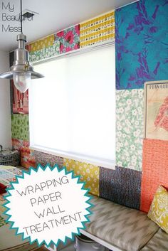 Our Favorite Pins Of The Week: Temporary Wall Coverings (For When You Can't Paint)