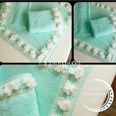 Havlu dan yapılmış Klozet Takımları