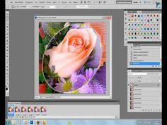 Урок для Photoshop Анимация фона.