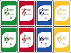 UNO style Treble clef Note Name Card game – Bluebird music lessons – Bird key game lessons Gallery Ideas] Piano Games, Piano Music, Music Games, Piano Lessons, Music Lessons, General Music Classroom, Middle School Music, Music Station, Future Music