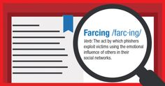 Farcing is the latest fad to sweep the world of cybercrime, and its goal is to mine personal information from social media sites.