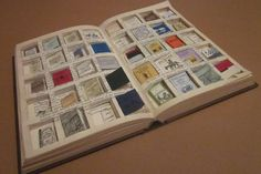 Rachel Walsh creates a kindle from Victorian times; a hardcover book containing 40 tiny books inside.