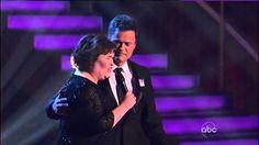 "Susan Boyle & Donny Osmond (Duet/Serenade) ~ ""This Is The Moment"" ~ Danc..."