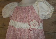 Easter size 5 dress peasant style dess by Prinilla on Etsy