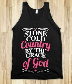 Stone Cold Country By The Grace Of God
