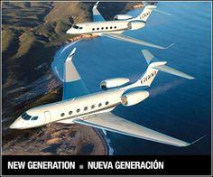 Gulfstream G500 and G600: New Generation Jets -- Gulfstream G500 y G600: jets de nueva generación.