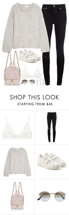"""""""Untitled #5266"""" by fashionnfacts ❤ liked on Polyvore featuring Anine Bing, Closed, Chloé, Valentino, Ray-Ban and Miss Selfridge"""
