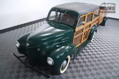'46 International Harvester Woody Wagon with matching Trailer