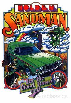 HX Holden Sandman
