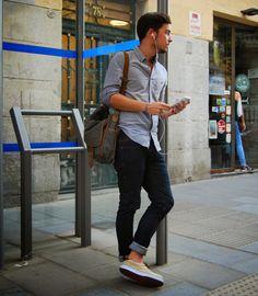 Street style en la calle Hortaleza de Madrid.