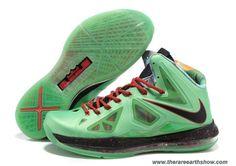 Nike Lebron X (10) 541100-300 Cutting Jade Style Sale