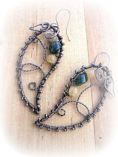 Leaves 2 by Sasha's Jewelry,