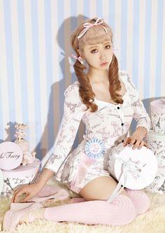 The special ~ katie amo risa same paragraph Poodle Dress shirt skirt - Taobao