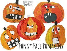 Pumpkin art project from DSS