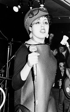 Poly Styrene is my favorite singer in the punk genre, sad that she died and also sad how hardly anyone has heard of the X-Ray Spex what a great band!