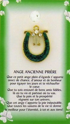 Ange Ancienne Prière Irlandaise