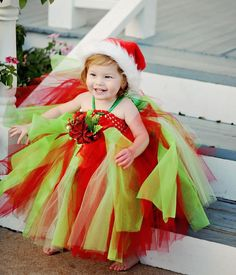 Grinch Tutu Dress. $65.00, via Etsy.