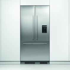 Fisher Paykel RS90AU1 - Integrated French Style Fridge Freezer With Ice & Water Option | Appliance City