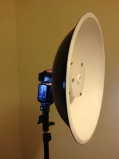 DIY beauty dish from a salad bowl