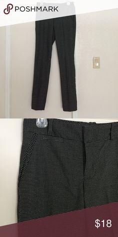 Black & white pants. Small white polka dots. Black & white pants. Black pants with small white polka dots. Never worn. Calvin Klein Pants