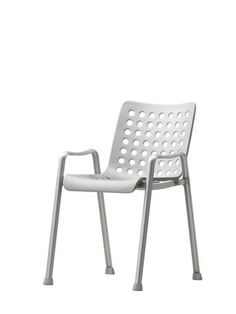 contemporary home accessories Hans Coray Aluminum Vitra Landi Matte Anodized Modern Swiss Chair Balcony Chairs, Outdoor Chairs, Outdoor Decor, Dining Chairs, Vitra Furniture, Garden Furniture, Balcony Furniture, Furniture Design, Doors