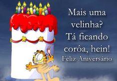 Párabens pelo seu dia, te desejo um feliz aniversário, veja sua mensagem.