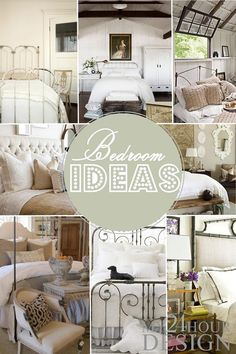 I'm in the process of creating a new home. I love mixing old architecture and furniture with new white or monochromatic bedding. Old and new like a relationship - memories and plans for the future House Design, Beautiful Bedrooms, Interior, Home, Home Bedroom, New Homes, Bedroom Inspirations, Home Deco, Bedroom Decor