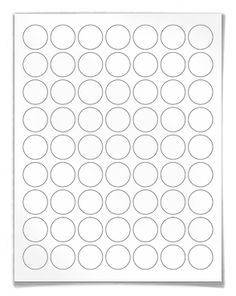 "Free blank round label template download: WL-1025 template in Word .doc, PDF and other formats. Round label template |  View here: http://www.worldlabel.com/Pages/wl-ol1025.htm | Size: 1"" circle, 63 labels per sheet"