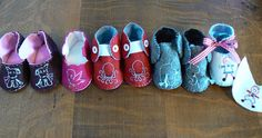 lots of baby shoe patterns