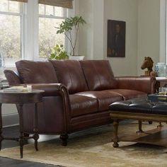 Bradington-Young Richardson Sofa Finish: Espresso, Upholstery: 905000-85