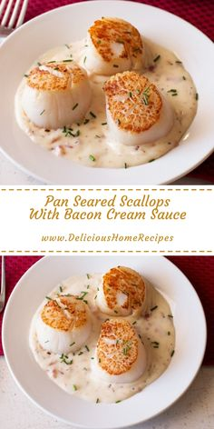 99 Amazing Scallop Recipes that makes your food look like an Art Seafood recipes? Here are best Scallop recipes for dinner, brunch or appetizers ranging from grilled scallops to seared scallops to bay scallop recipes, etc Special Recipes, Great Recipes, Favorite Recipes, Home Recipes, Cooking Recipes, Recipes Dinner, Dinner Ideas, Online Recipes, Food Online