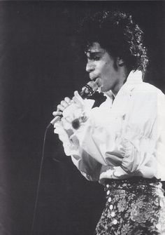 Rare Prince pic Purple Rain Tour 1984