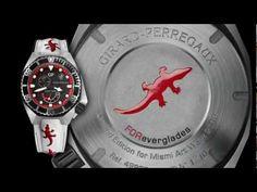 GIRARD-PERREGAUX HAWK FOREVERGLADES em vídeos em Presentwatch