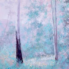 """THE GUM TREES IN SPRING"" by Jan Matson. Paintings for Sale. Bluethumb - Online Art Gallery"