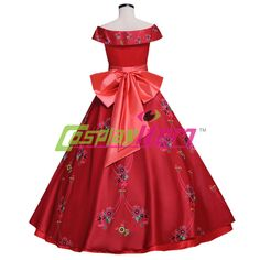 Elena of Avalor Elena Princess Dress Adult Ball Gown Prom Dress Costume Cosplay