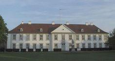 Odense Palace on Fyn in Denmark