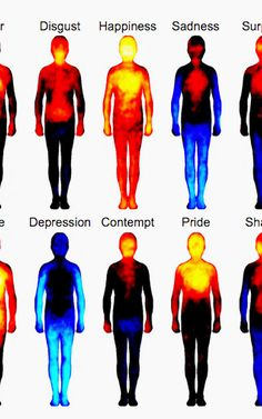 An Atlas Of The Human Body That Maps Where We Feel Emotions | Co.Exist | ideas + impact